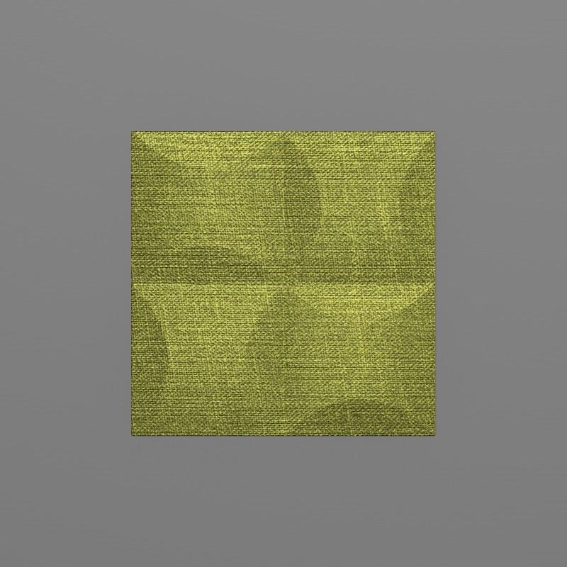 Blancas-25 Benetton zöld 3D falpanel