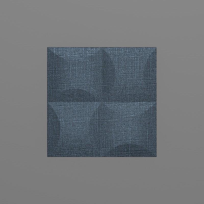 Blancas-30 Denim kék 3D falpanel