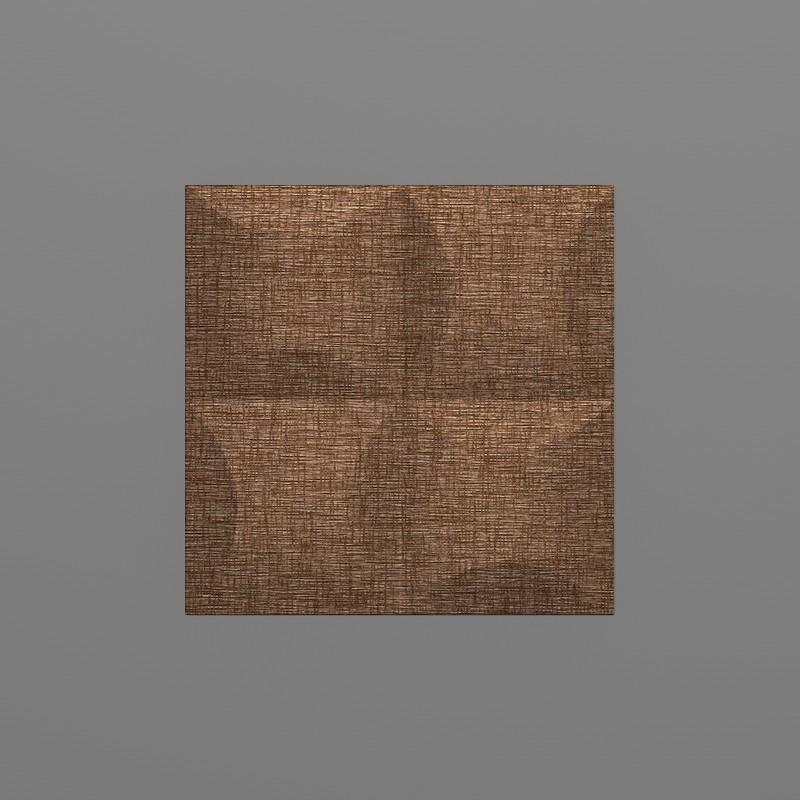 Blancas-38 Kakaó barna 3D falpanel
