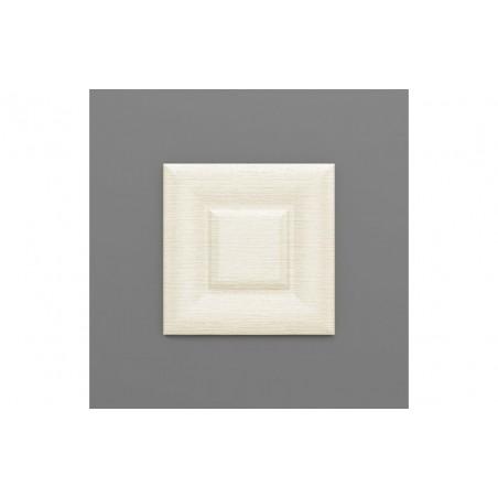 Sabaya-37 Hermelin fehér 3D falpanel