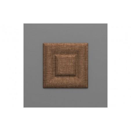 Sabaya-38 Kakaó barna 3D falpanel