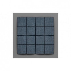 Cabaray-30 Denim kék 3D falpanel