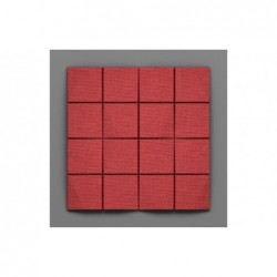 Cabaray-32 Alizarin piros 3D falpanel