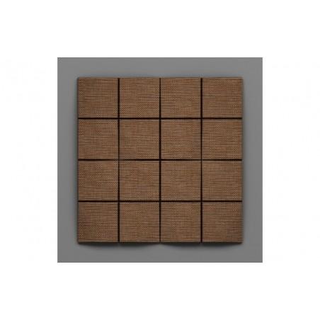 Cabaray-39 Rió barna 3D falpanel