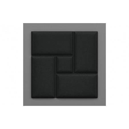 Acotango-2 Éjsötét fekete 3D falpanel