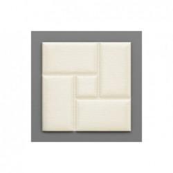 Acotango-37 Hermelin fehér 3D falpanel