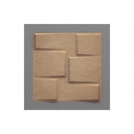 Bonete-6 Metál 3D falpanel