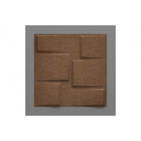 Bonete-39 Rió barna 3D falpanel