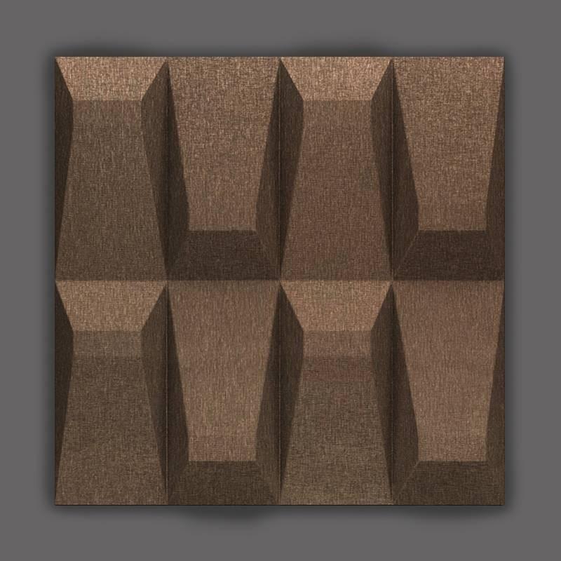 Galeras-8 Wenge barna 3D falpanel