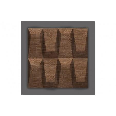 Galeras-39 Rió barna 3D falpanel