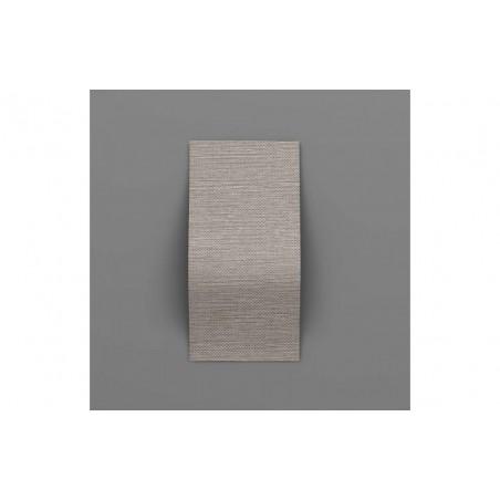 Cascade-36 Acél szürke 3D falpanel