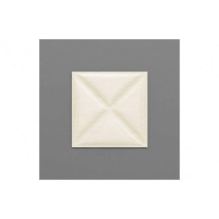 Montserrat-37 Hermelin fehér 3D falpanel
