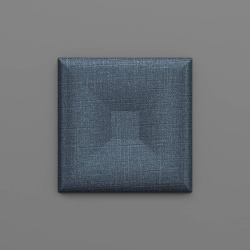 Lastarria-30 Denim kék 3D falpanel