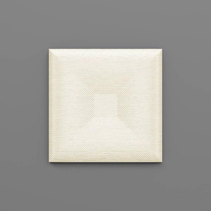 Lastarria-37 Hermelin fehér 3D falpanel