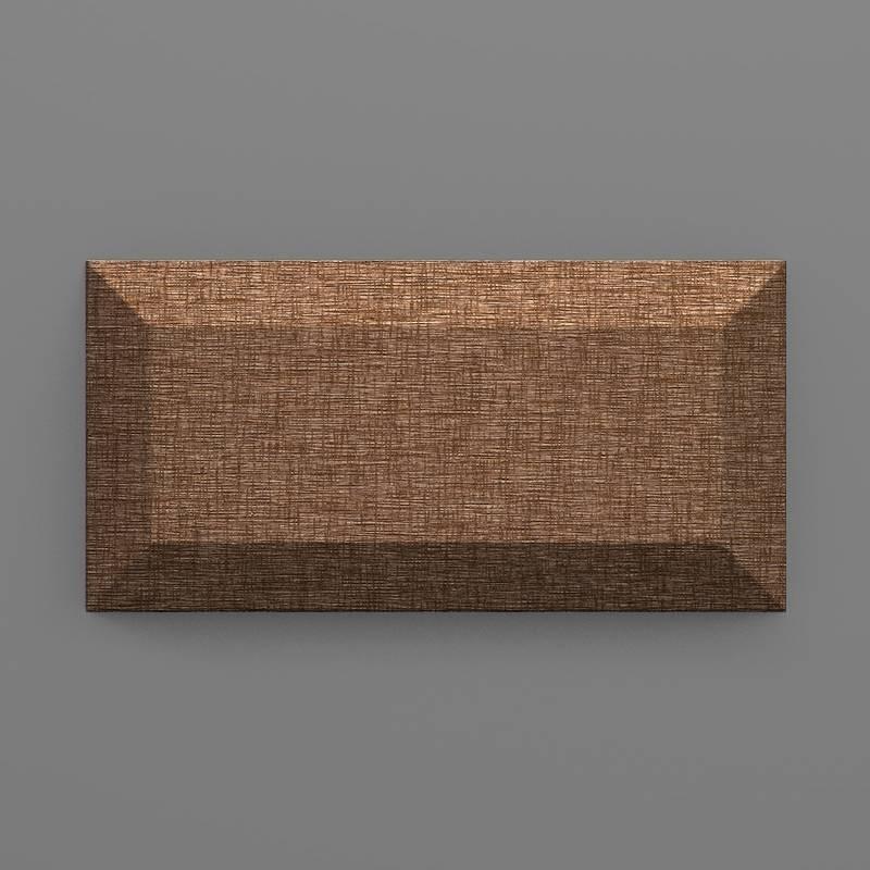 Paruma-38 Kakaó barna 3D falpanel
